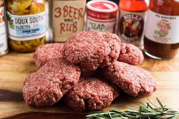 (6) Cajun Cleaver Steak Burgers