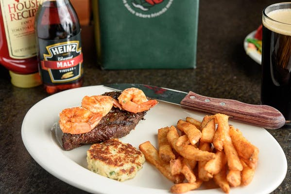 Irish Surf N' Turf