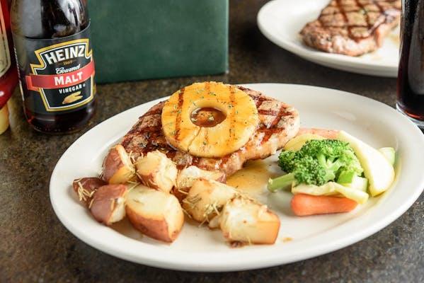 Grilled Pork Ribeye