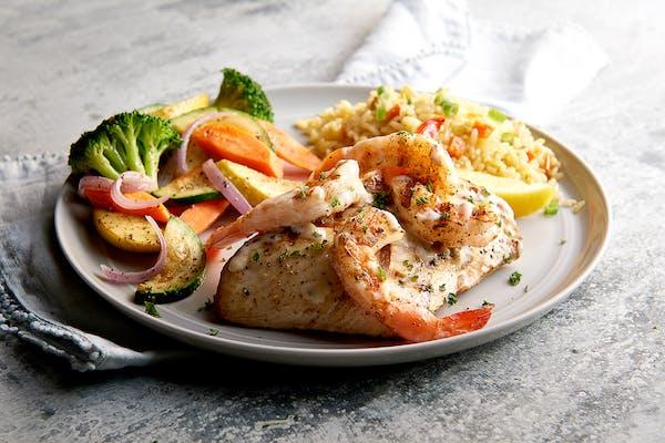 Grilled Mahi-Mahi & Shrimp