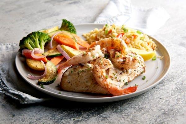 Grilled Mahi Mahi & Shrimp