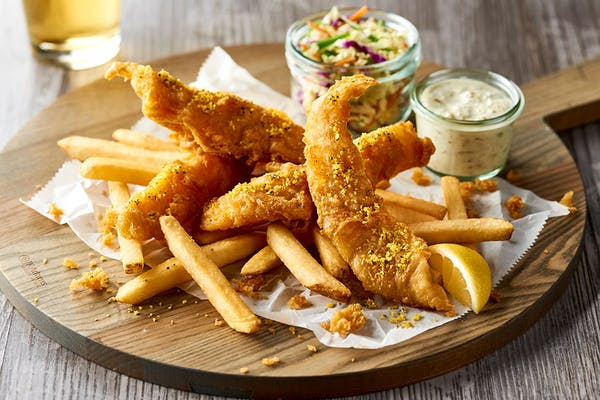 Crunchy Fish & Chips