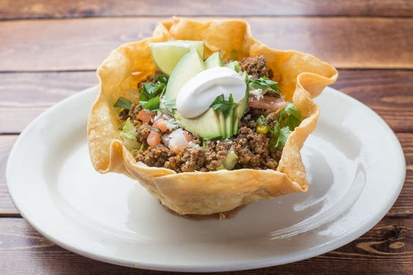 Chicken or Beef Taco Salad