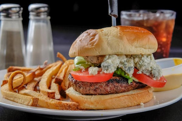 Black & Bleu Steak Burger