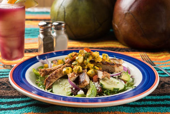 Village Salad - BBQ Chicken or Mango Chicken