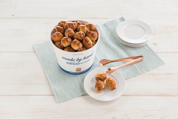 Mini Pretzel Dogs Bucket