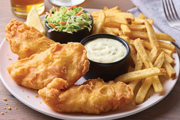 Hand-Battered Fish & Chips