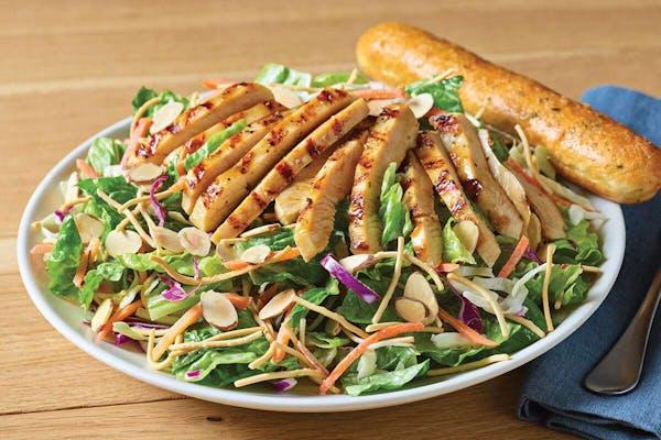Grilled Oriental Chicken Salad