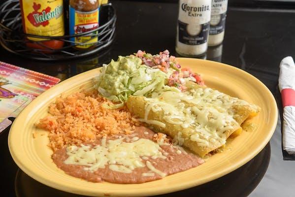 37. Steak Enchiladas