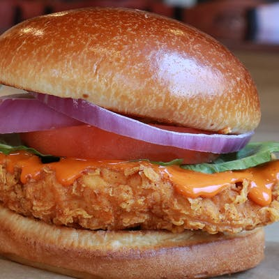 Hand-Breaded Chicken Sandwich
