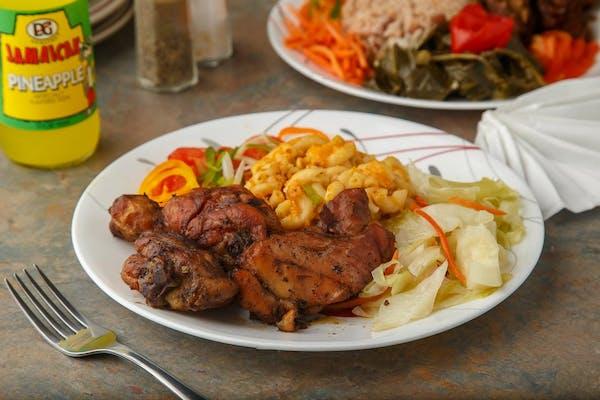Lunch Bone-In Jerk Chicken