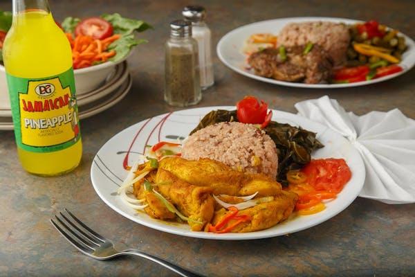 Lunch Boneless Curried Chicken