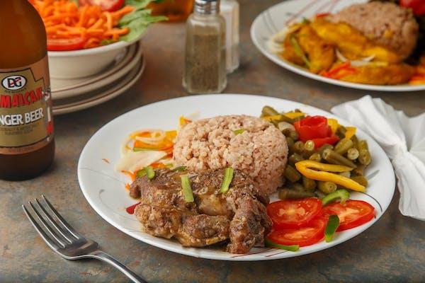 Lunch Jerk Pork