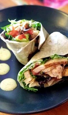 5. Lunch Avocado Wrap & Tortilla Soup