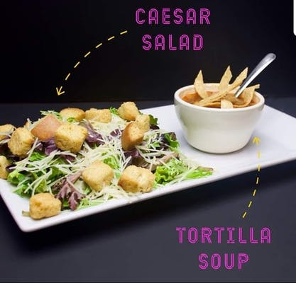 8. Lunch Caesar Salad