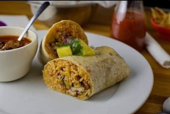 "15. ""El Pastor"" Burrito"