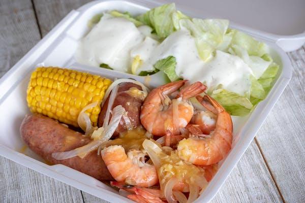 Boiled Shrimp Platter