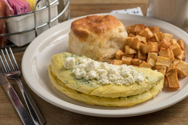 The Greek Omelet