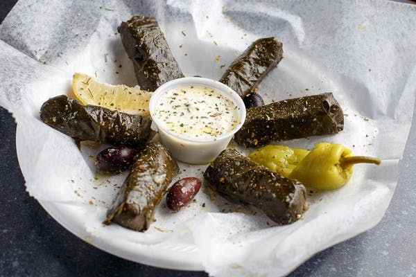 Stuffed Grape Leaves (Vegan)