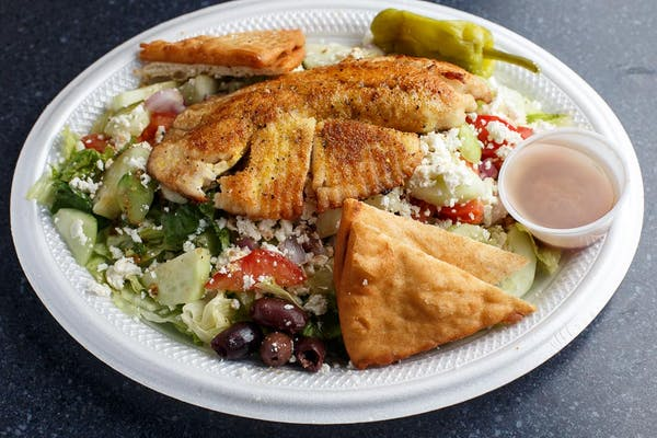 Grilled Tilapia Salad