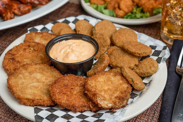 Fried Green Tomatoes & Pickles