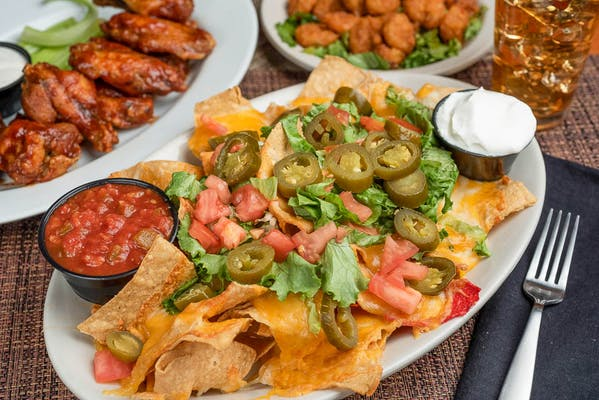 Cheese Nachos