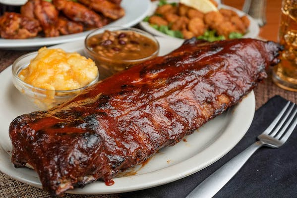 Big Daddy's Baby-Back Rib Platter