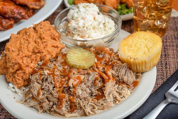 Pulled BBQ Pork Plate