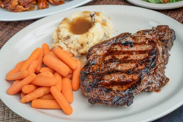Ribeye Steak Platter