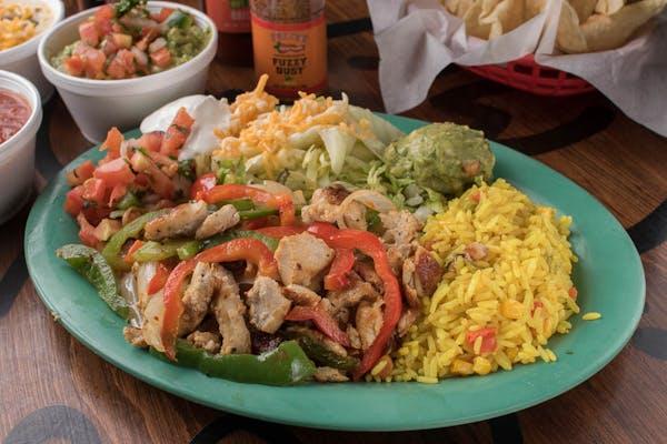 Fajita Chicken Plate