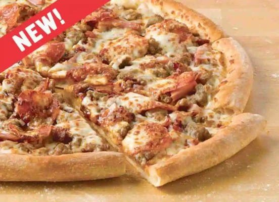 BBQ Meats Specialty Pizza