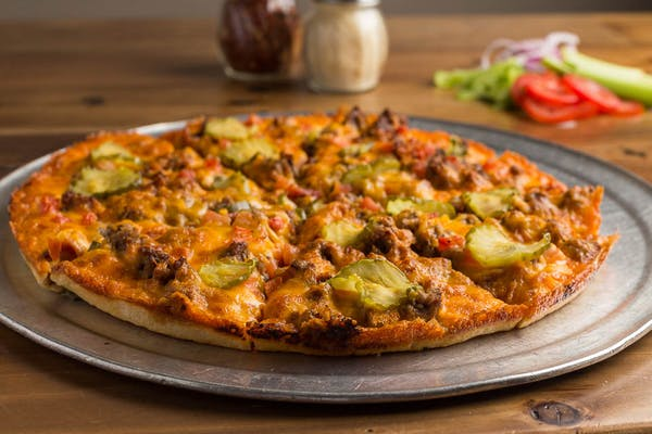 Great American Burger Pizza