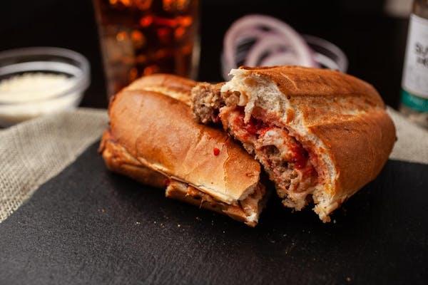 Meatball House Baked Sub