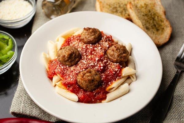 Meatball Marinara Pasta