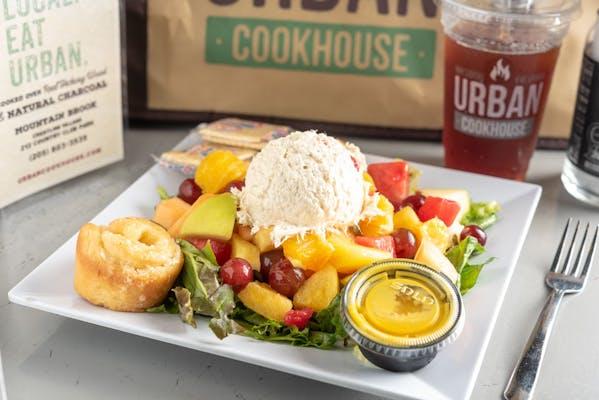 Chicken Salad & Fruit Plate