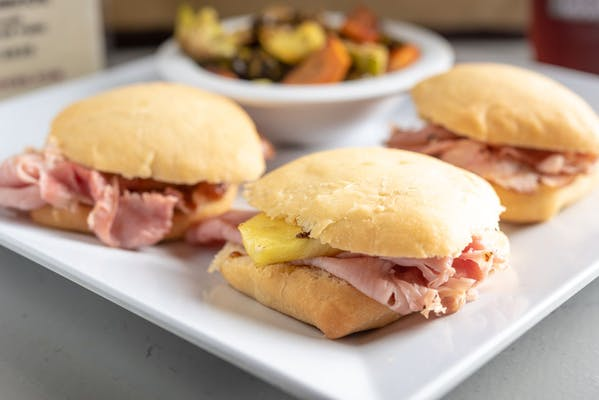 Grilled Pineapple Ham Sandwich