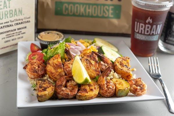 Wood-Fired Shrimp Kabob Special