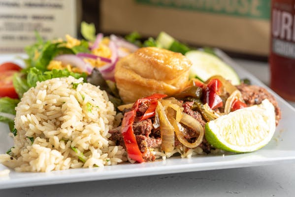 Lime-Marinated Steak & Rice Special