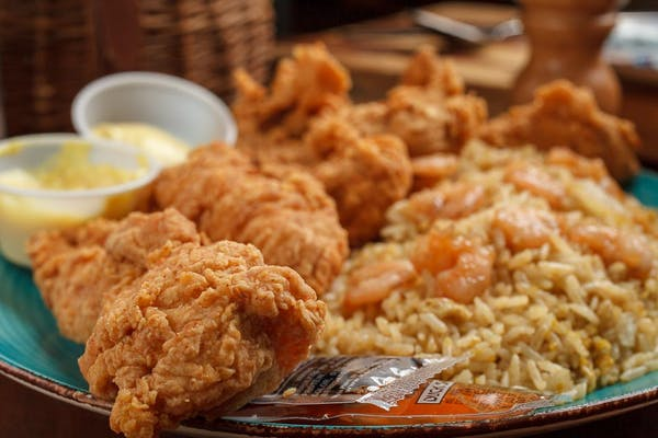(3 pc.) Fried Chicken Tenders Plate