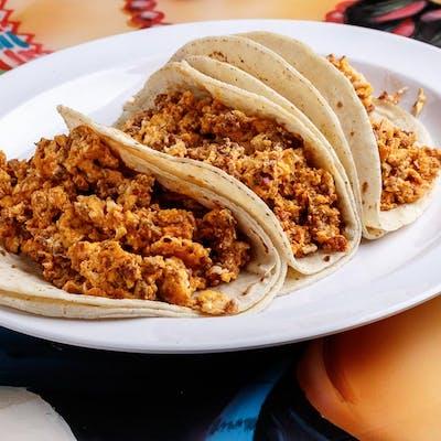 Eggs & Chorizo Taco