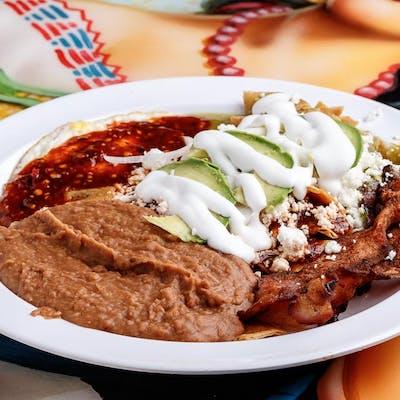 Chilaquiles Americanos