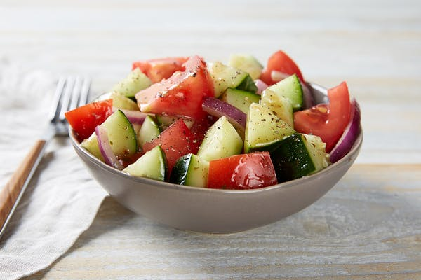 Side Tomato & Cucumber Salad