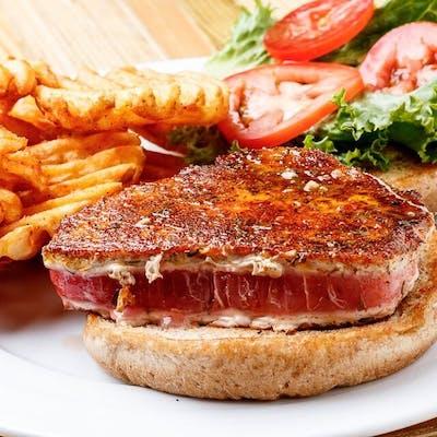 Grilled Tuna Burger