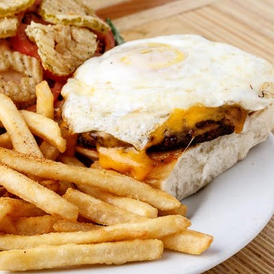The Chuck Vegas Burger