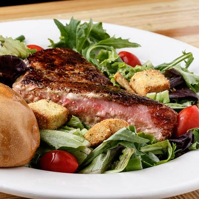 Ahi Tuna or Grilled Shrimp Salad