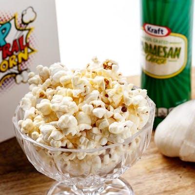 Parmesan & Garlic Popcorn