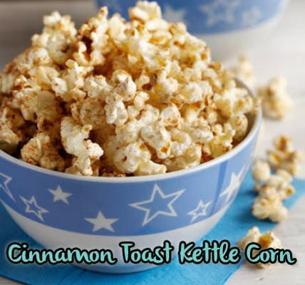 Cinnamon Toast Kettle Corn