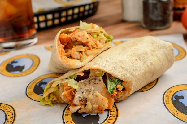 The Moroccan Chicken Wrap