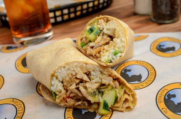 The Samurai Chicken Wrap