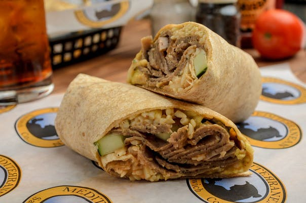 The Middle Easterner Wrap
